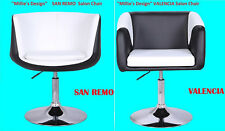 Beauty Salon Styling Faux Leather Swivel Barber Chair Hairdressing Padded Seat