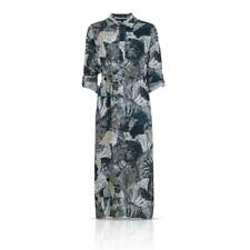 French Connection FCUK 71FFS Lala Palm Print Maxi Shirt Summer Dress RRP £120