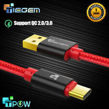 3.1 USB Type C Cable Nylon Fast Charging USB-C Data Sync Charger Oneplus Samsung