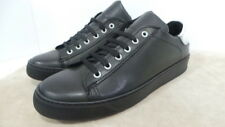 Sneakers in pelle cod.132  made in Italy col.nero/bianco
