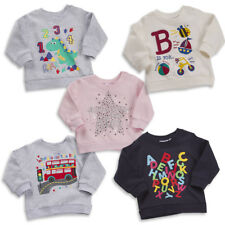 Baby Unisex Girls Boys Long Sleeve Infant Fun Print Jumper 6- 24 Months