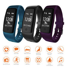 Waterproof S1 Smart Bracelet Heart Rate Monitor Sport Band Watch Fitness Tracker