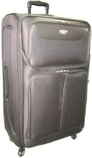 XL 4 WHEEL SPINNER TROLLEY CASE SUITCASE LUGGAGE BAG