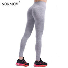 NORMOV S-XL 3 Colors Casual Push Up Leggings Women Summer Workout Polyester