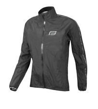 FORCE X45 RAIN JACKET FOR CYCLING, BLACK 899750