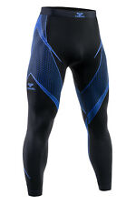 TERVEL OPTILINE OPT 3007 MEN'S THERMOACTIVE LEGGINGS BLACK BLUE