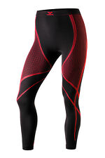 TERVEL OPTILINE OPT 4007 WOMEN'S THERMOACTIVE LEGGINGS Black Red