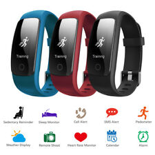 Waterproof Sports Band Watch Smart Bracelet Heart Rate Monitor Fitness Tracker