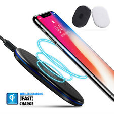 Mini Qi Wireless Charger Charging Pad for Samsung Galaxy Note 8/S8+ iPhone X/8