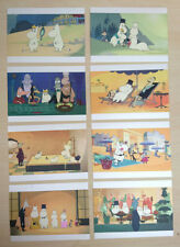 Tove Jansson ~Modern  Moomin Postcards 8 Riviera Film Designs Brand New 1pc Only
