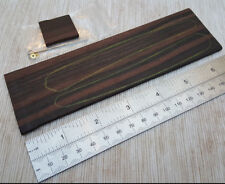 Straight Razor Scales Exotic woods perfect for DIY project with pins + spacer