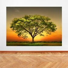 Green Tree Nature Landscape wall art print picture canvas prints Unframed