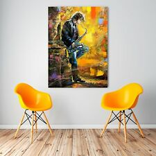 Musician Oil Painting wall art print picture canvas prints Unframed