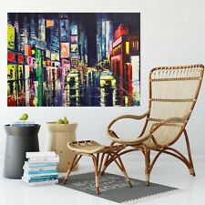 City Reflections Oil Painting wall art print picture canvas prints Unframed