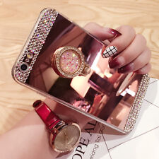 Luxury Diamond Glitter Bling Mirror Case With Stand for Samsung A3 A5 J3 J5 & S