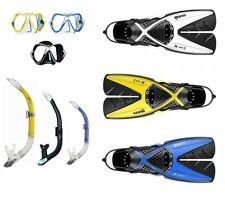 Mares x-ones SET DE SNORKEL CON Mares X-vision Talla 35-47 div. colores abc-set