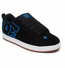 DC shoes skate court graffik Nero - Blu 300529 Xkkb uomo numeri UK 11 & 13