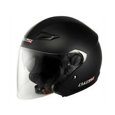 CASQUE DE MOTO JET LS2 TRACK SINGLE MONO DOUBLE VISIÈRE
