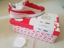 NIB RARE PUMA x HELLO KITTY Suede Shoes Sneakers IN HAND FREE SHIP, 7-8.5