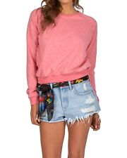 Billabong Essential Sweatshirt - Rose - Ladies Sweatshirts & Jumpers