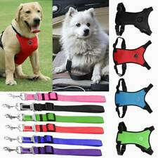 Air Mesh Puppy Pet Dog Car Harness Seat Belt Clip Lead Safety for Travel Dogs