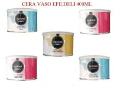 CERA DEPILATORIA LIPOSOLUBILE VASO 400 ML EPILDELI DEPILAZIONE CERETTA