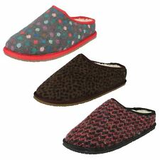 Ladies Clarks Slip On Slippers Adella Alpine