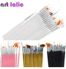 "Nail Art Pinsel 15tlg &Modellage Gel Pinsel Set ORIGINAL""ART LALIC"" in 20-40Tage"