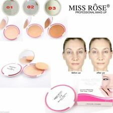 Miss Rose Professional Make Up Compact Pressed Face Powder Contour 3D Moisture