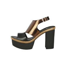 Sandali Donna V 1969 GERTRUDE_05  black,saddlebrown NEW