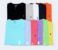 Polo Ralph Lauren Crew Neck Short Custom Fit Short Sleeve T-Shirt