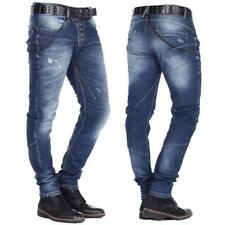 Cipo & Baxx CD 221A Herren Männer Men Jeans Stretch Denim Hose Kette blau blue