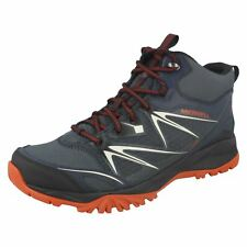 Mens Merrell Lace Up Walking Boots Capra Bolt Mid Gore-Tex J35719