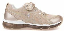 Geox Android Kinder Sneakers Turnschuhe J8245b-02anf/c2204 Beige Gold Neu