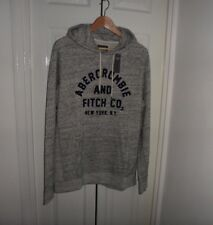 Mens Abercrombie & Ficth Long Sleeve Hoodie Size L, XL, /Tops Jacket NWT