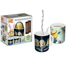 Easter Chocolate & Colour Changing Mug Set,Despicable Me/Justice League/Mario