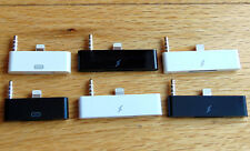 8 PINES 30 Audio Estación Adaptador Del Convertidor Conector para Iphone 5 6