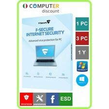 F-Secure Internet Security 1,3 Pc 1 anno licenza elettronica
