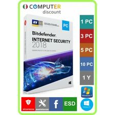 Bitdefender Internet Security 1,3,5,10 Pc 1 anno licenza elettronica