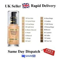 !RRP£12.99! Max Factor Miracle Match Blur & Nourish Foundation-Choose Your Shade