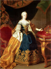 Poster Portrait of the Empress Maria Theresa of Austria - Martin Mytens