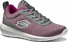 LOTTO Superlight Baskets Femmes Chaussures de course t0057 GRIS ROSE NEUF