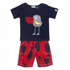 Lilly and Sid Baby Boys Shorts and T-Shirt Pelican