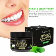 Natural Activated Bamboo Charcoal Tooth Whitening Powder Toothpaste Oral Care