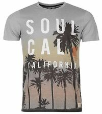 SOULCAL & Co hommes Tee-shirt FR CALIFORNIE FR NEUF