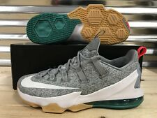 Nike Lebron XIII 13 Low Summer Pack Shoes Stealth White Teal SZ ( 831925-016 )