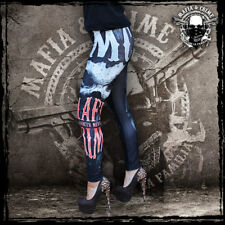 •• MAFIA & CRIME Ladies Leggings schwarz / MC Mafia and Crime / XS-XXL / Neuware