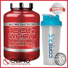 Scitec Nutrition 100% Whey Protein Professional (2350g) + FREE CoreX Shaker