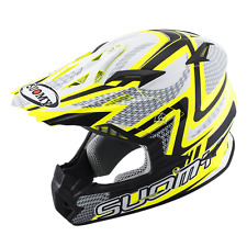 CASCO CROSS SUOMY RUMBLE SERPENTE GIALLO TAGLIA XS < XXL