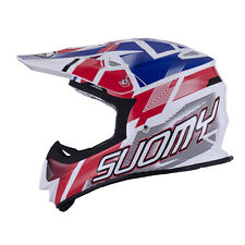 CASCO CROSS SUOMY MR JUMP ESPECIAL BLANCO / ROJO / BLUE TALLA XS < XXL